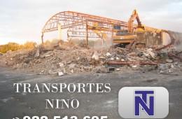 Empresa excavaciones en Tenerife apertura de zanjas para construccion transportes nino para organismos publicos empresas particulares