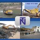 transportes nino en tenerife sur norte islas canarias españa demoliciones excavaciones guimar